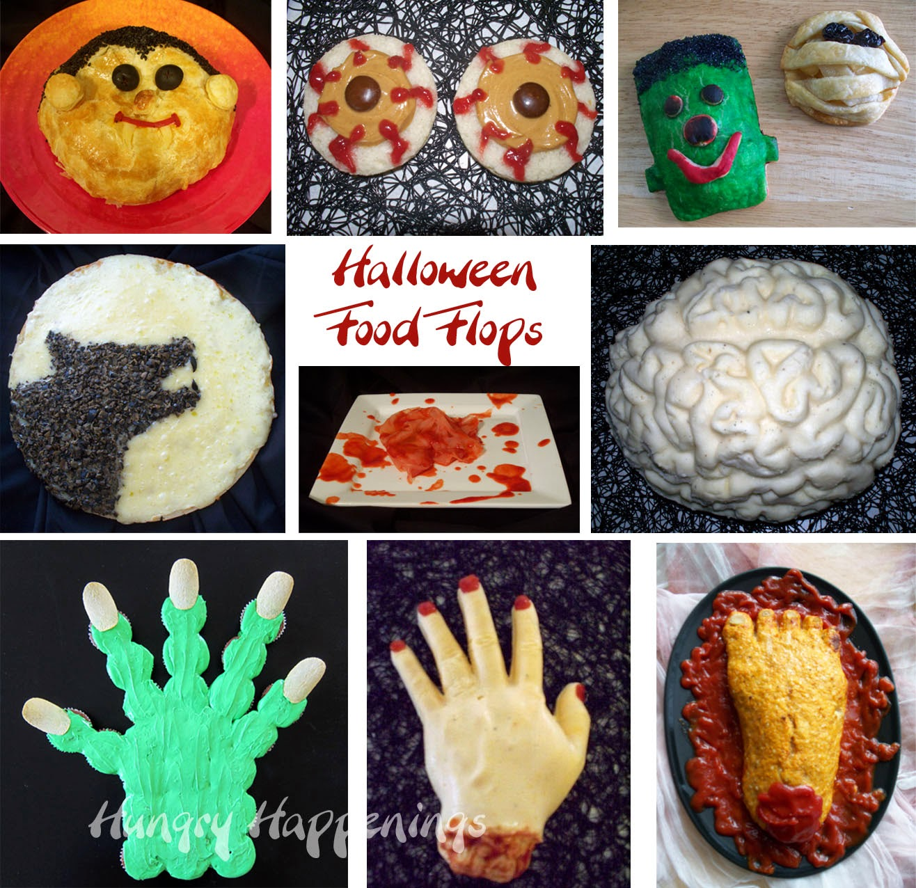 gross halloween food and recipes | hungry happenings