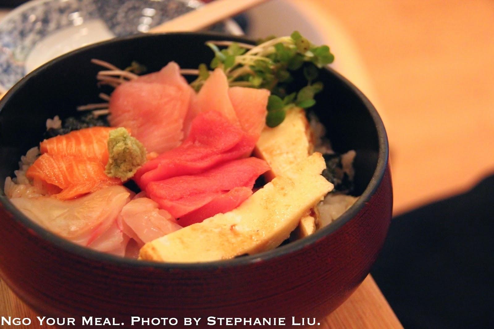 Chirashi at Sushi Yasuda