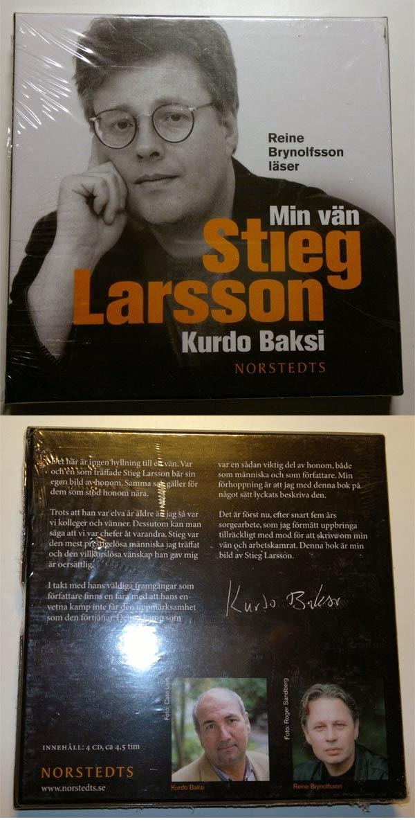 Någon ljudbok om Stieg Larsson.