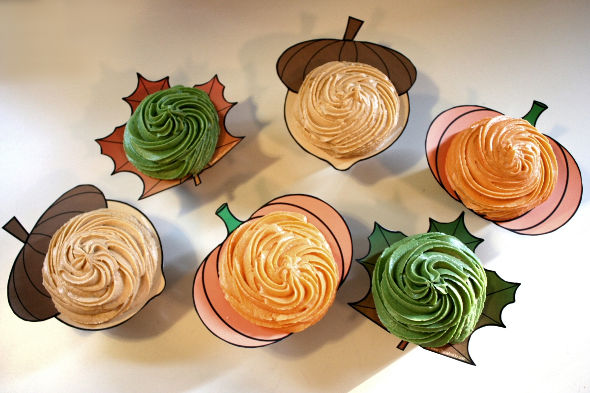 Clyde s Cupcake Magic Fall Cupcake Ideas