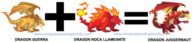como sacar el dragon juggernaut en dragon city combinacion 1