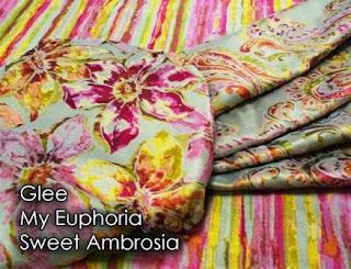 glee, euphoria, ambrosia, fabric