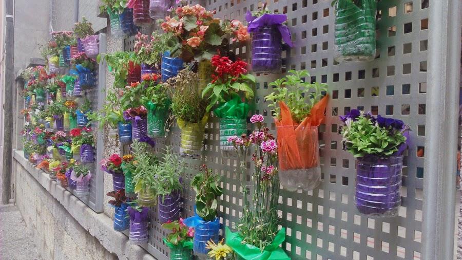 Vertiflor for Jardin vertical reciclado