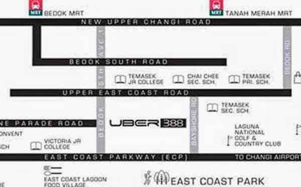 Uber 388 Location Map