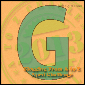 A to Z Challenge: G