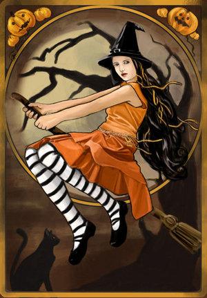 Chica Halloween