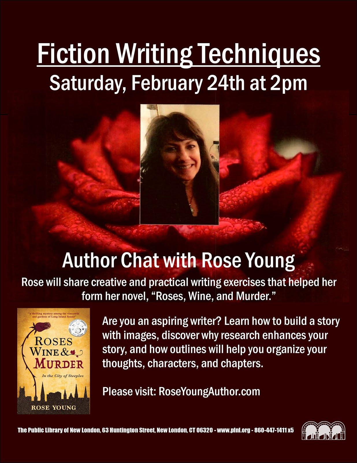 Fiction Writing Techniques - Author Chat