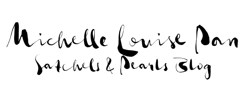 michelle louise pan [satchels & pearls blog]
