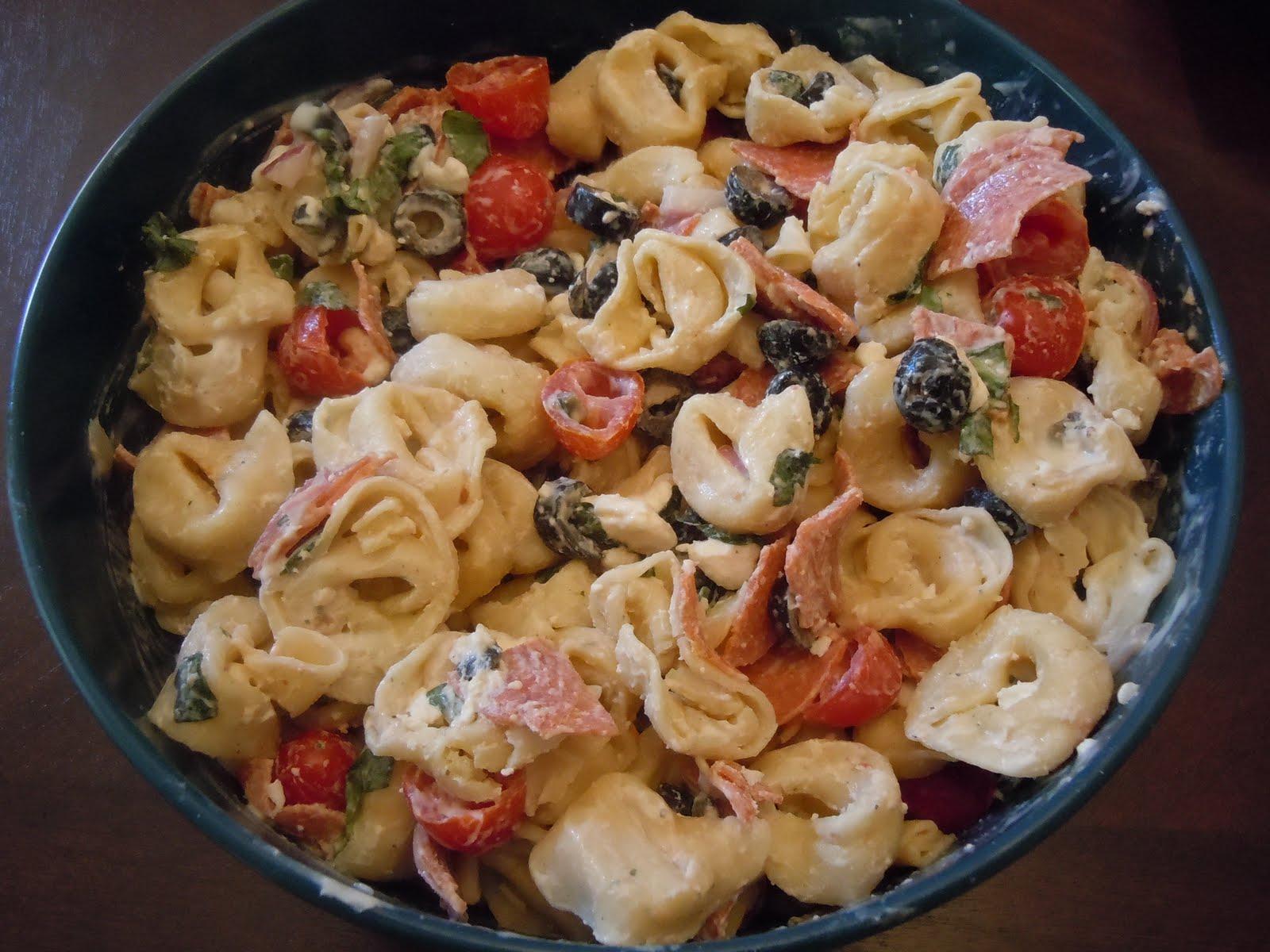 Tortellini Pasta Salad Recipe — Dishmaps