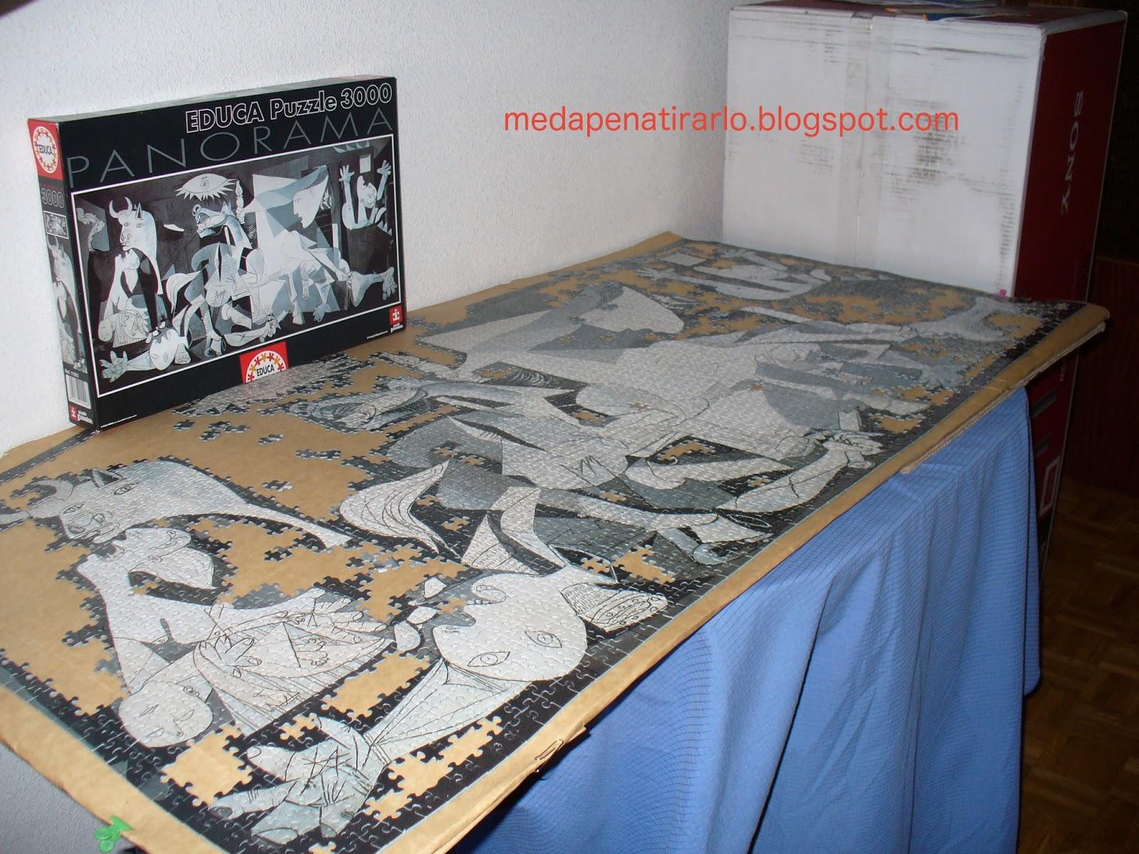 ME DA PENA TIRARLO: Enmarcar puzzles