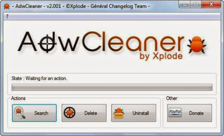 AdwCleaner التخلص من ملفات الدعاية و الاعلانات المزعجة