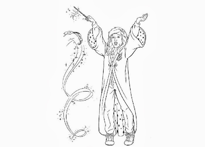 Free Coloring Pages Of Hermione Hermione Coloring Pages