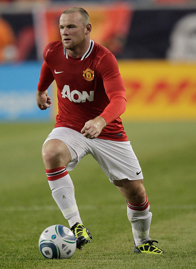 Wayne Rooney new kit about new era of Manchester United 2011-2012