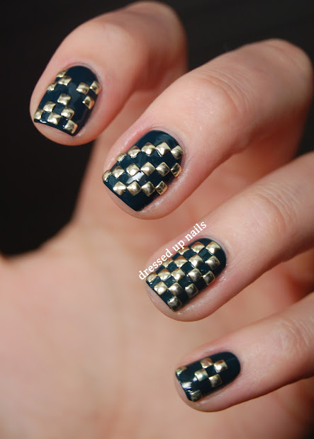 nail design with studs