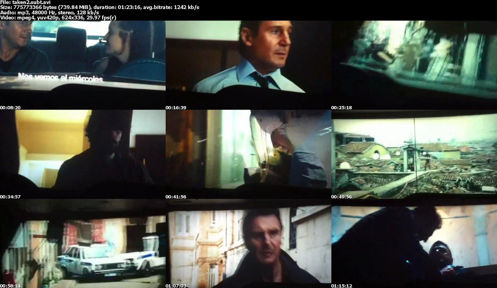 Taken 2 (Busqueda Implacable 2) [Ts-Scr] [Subt] [LB-DF]