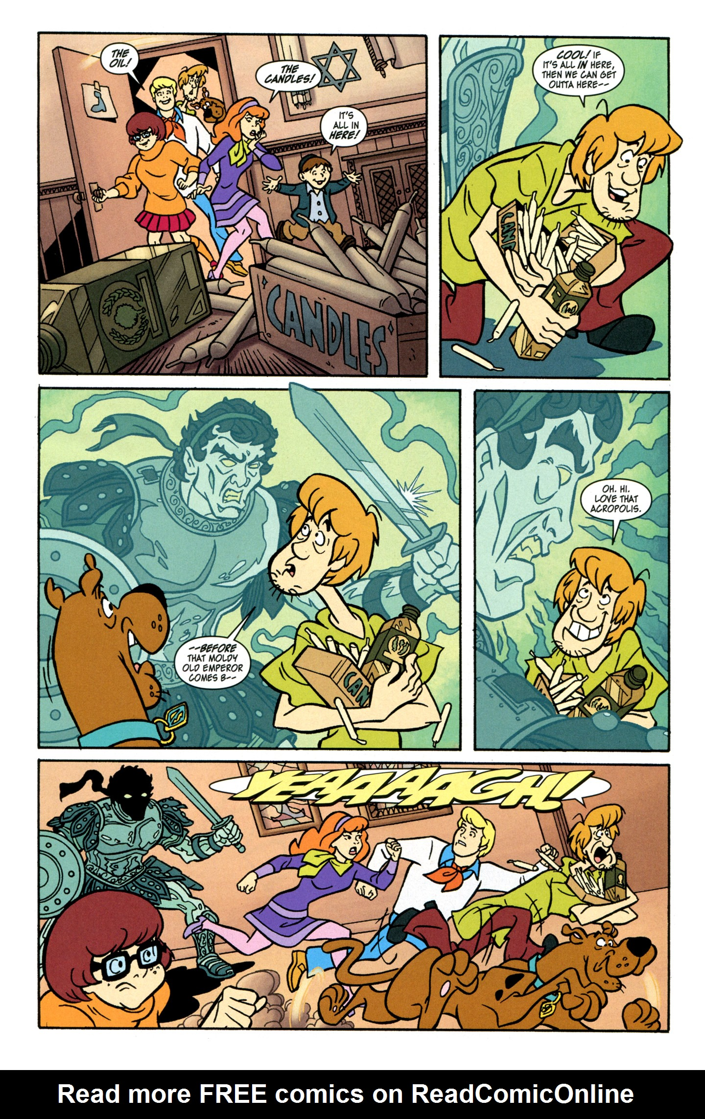 Read online Scooby-Doo: Where Are You? comic -  Issue #28 - 13