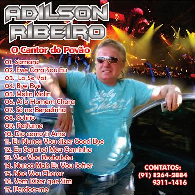 CD ADILSON RIBEIRO O CANTOR DO POVÃO LANÇAMENTO 2013