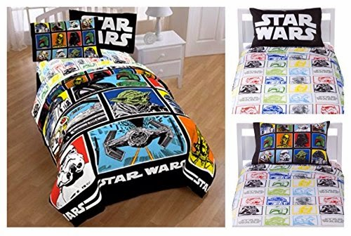 Star Wars Classic 4 Piece Twin Bed Sheet Set