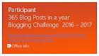 2016 Challenge Blogging