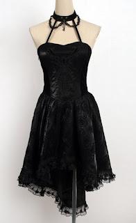 vestidos para góticas
