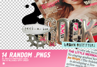 material para collage blend banner png cute