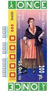 Traje típico de Huelva - Mujer - Cupones ONCE 1996