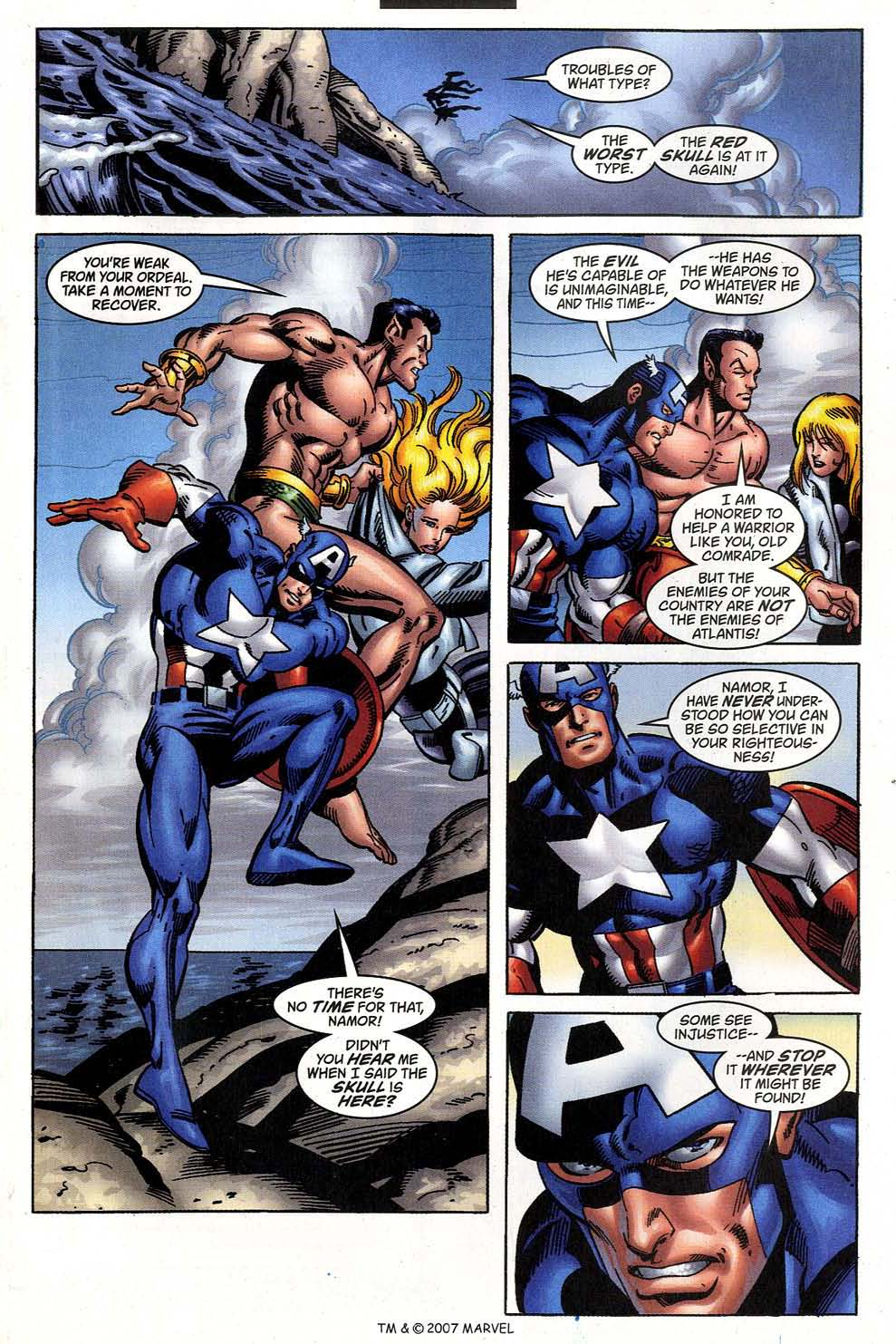 Captain America (1998) Issue #47 #54 - English 17