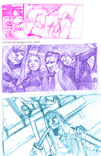 Composition Studies from Kill Bill