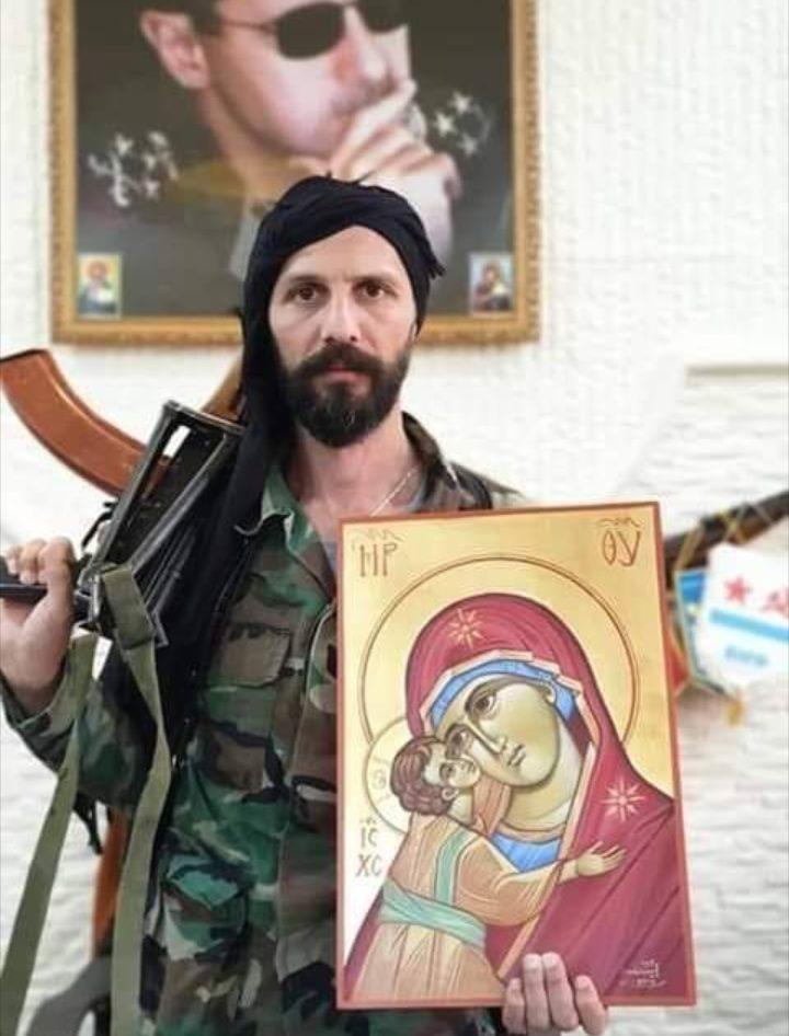 «Ο Θεός να σε προστατεύει… ω Συρία * Allāh yahmiki yā Sūriya * الله يحميكي يا سوريا.»