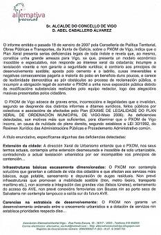 REDACTAR UN NOVO PXOM (ANO 2007)