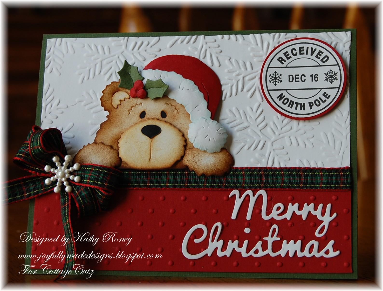 Joyfully made designs homemade christmas gift set release for Penguin christmas cards homemade