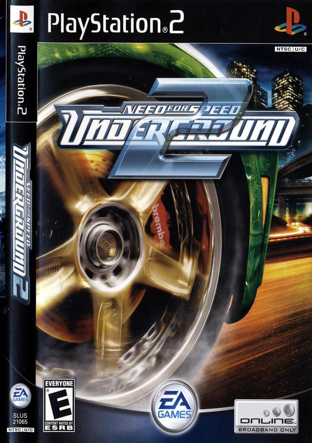MVS Games: Need for Speed Underground 2 (PS2) Ps2 Need For Speed