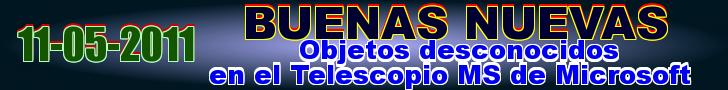 Objetos desconocidos en el Telescopio MS de Microsoft