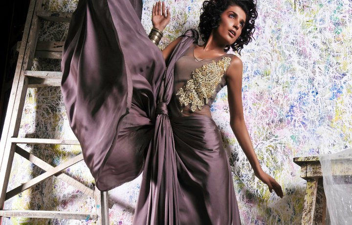 Tabassum Mughal Haute Couture Collection in Greek Cuts