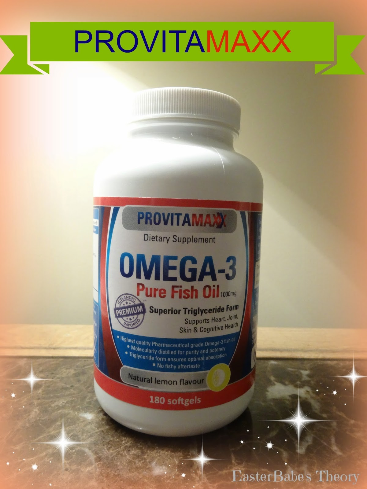 Easter babe 39 s theory provitamaxx omega 3 fish oil giveaway for Fish oil omega 3 benefits