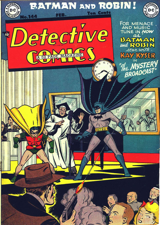 Detective Comics (1937) 144 Page 1