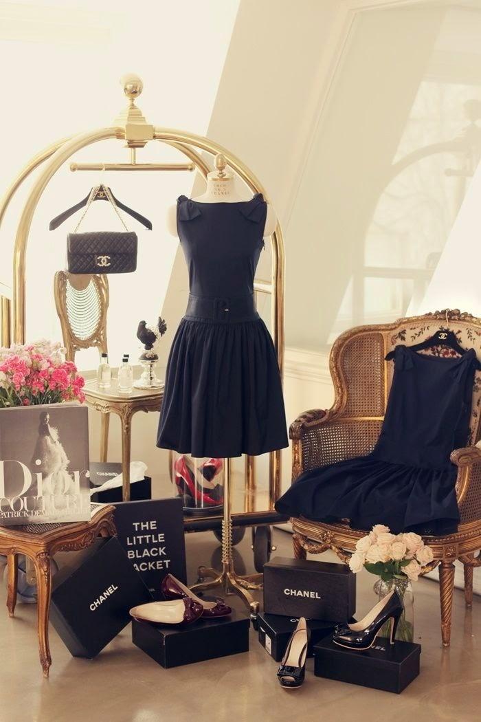A bit of glamour/lulu klein