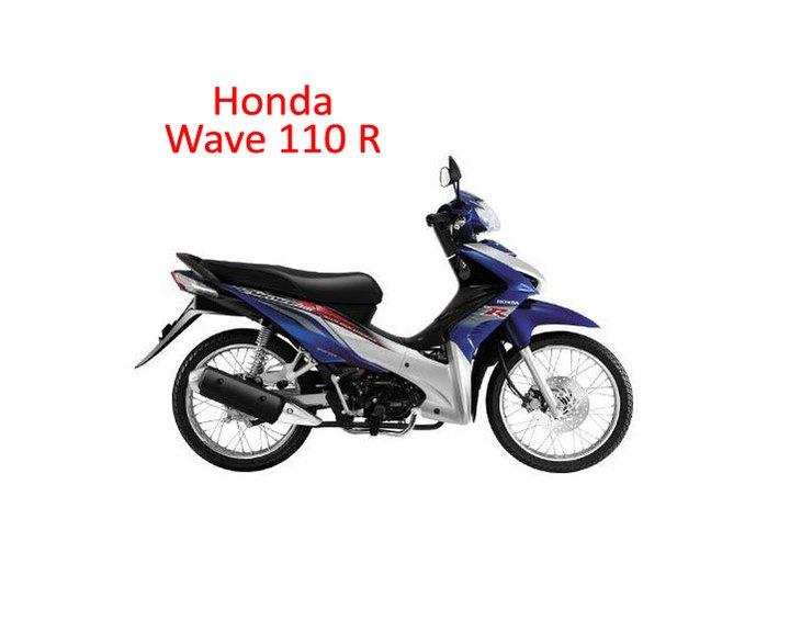 To All Motor Dealer Honda Wave 110 R 2011