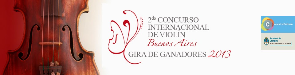 2° Concurso Internacional de Violín Buenos Aires 2012 / International Violin Competition