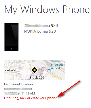 find windows phone