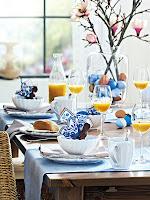Свежа украса на празничната трапеза за Великден
