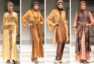 Kumpulan Model Baju Muslim Gaul Terbaru 2013