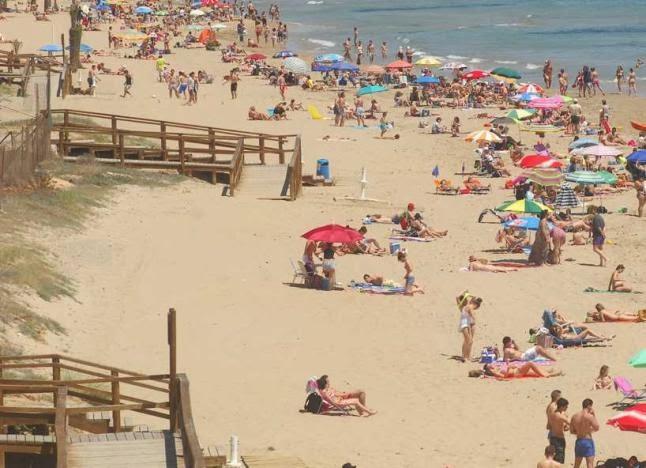Las playas de Elche