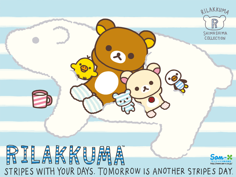 rilakkuma wallpaper january - photo #48