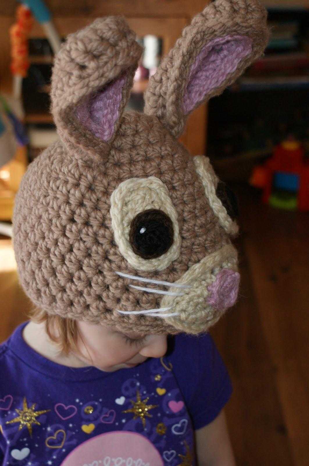 Free Crochet Pattern For Bunny Ears : Darlas Bunny Hat Oombawka Design Crochet