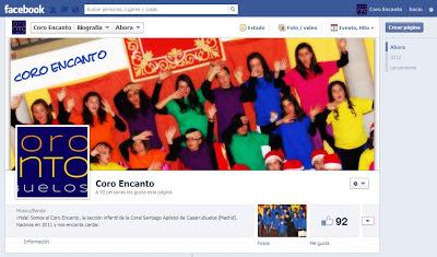 coro encanto en facebook