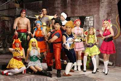Bubble Gang Casts in Anime Costumes