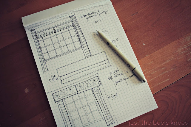 faux roman blind sketch