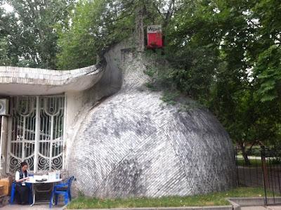 soviet buidlings bishkek, kyrgyzstan tours 2014