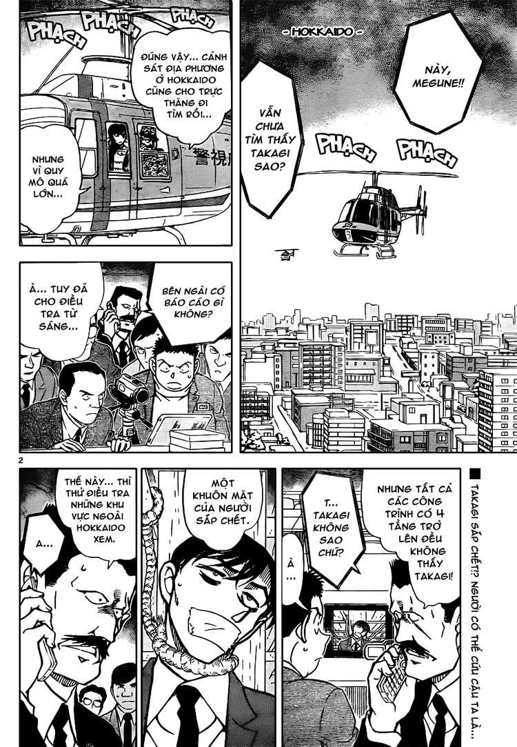 Detective Conan - Thám Tử Lừng Danh Conan chap 808 page 2 - IZTruyenTranh.com
